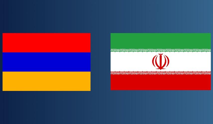 Flag of Armenia&Flag of Iran